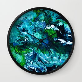 Mon hypocampe Wall Clock