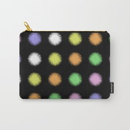 Rainbow Fuzz Carry-All Pouch