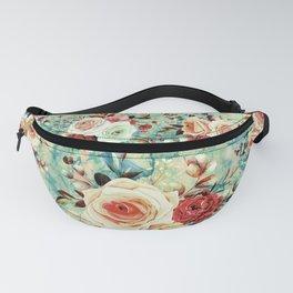 Blossom Roses Fanny Pack