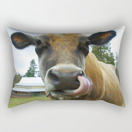 Eat Local Rectangular Pillow
