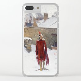 John Singer Sargent, Mannikin in the Snow,1891 Clear iPhone Case