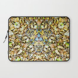 A Circle of Leaves Laptop Sleeve
