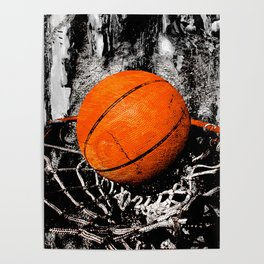 The basketball Poster