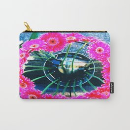 Magenta gerbera Carry-All Pouch