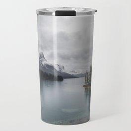 Maligne Lake Jasper Alberta Travel Mug