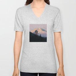 Mountain Sunrise 01 Unisex V-Neck