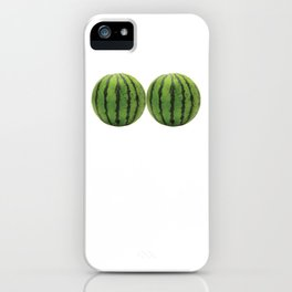 I Have Got the Melons Graphic Funny T-shirt iPhone Case