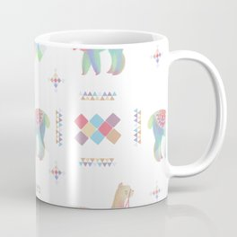 Colorful Alpaca Coffee Mug