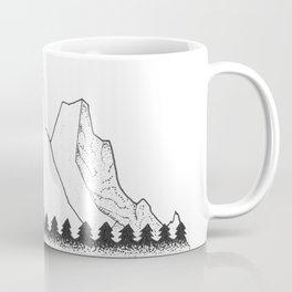 Serene Floating Mountain Campsite Coffee Mug