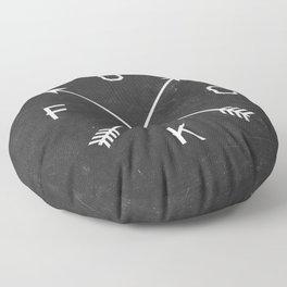 Fuck Floor Pillow