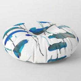 Sea Glass Floor Pillow