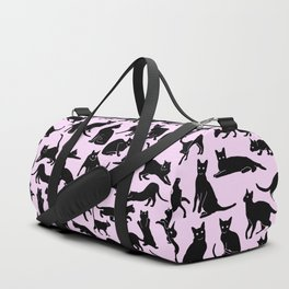 All the Cats (pink) Duffle Bag
