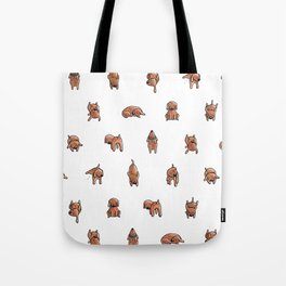 Wooferland: Wooferdog pattern Tote Bag