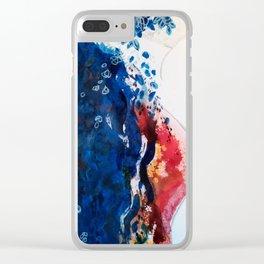Fiori profumati tra i tuoi pensieri di dolore Clear iPhone Case
