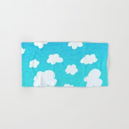 Happy Little Clouds Hand & Bath Towel