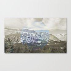 Tunnel Mountain Canvas Print