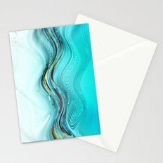 Fractal Wave Stationery Cards
