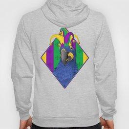 Jake the Jester - Mardi Gras Macaw Hoody
