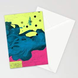 Halftone Highlighter Stationery Cards