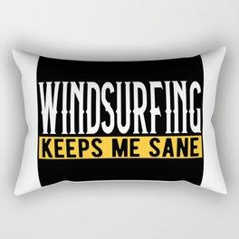 Windsurfing Lovers Gift Idea Design Motif Rectangular Pillow