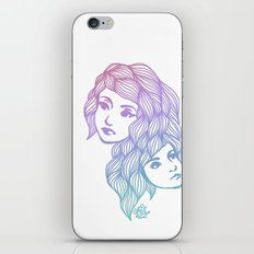 Two Heads are Better Than One iPhone & iPod Skin