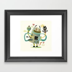 Promenade (without background) Framed Art Print