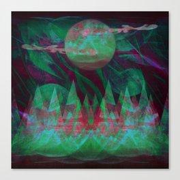 Temporary Darkness Canvas Print