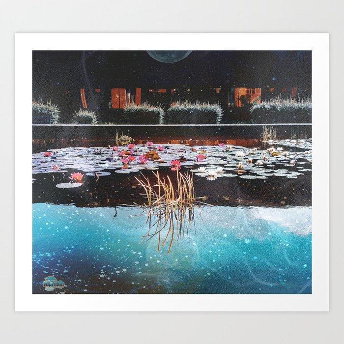 Telford Pond Art Print