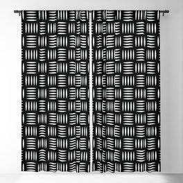 Geometric Pattern 131 (Industrial floor) Blackout Curtain