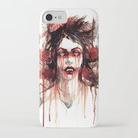 vampire iPhone & iPod Cases featuring VAMPIRE by AkiMao