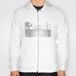 Beach Pointillism Hoody