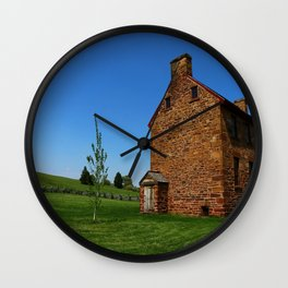 Stonehouse Manassas Battlefield Wall Clock