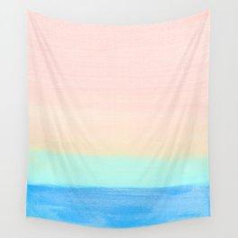 Retro Rainbow Painting Wall Tapestry