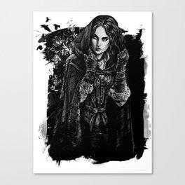 Yennefer of Vengerberg  Canvas Print