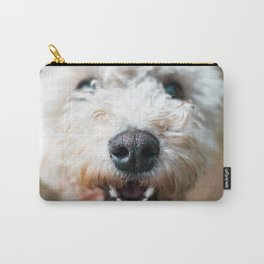 Snowball West Highland White Terrier dog Carry-All Pouch
