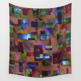 Building Blocks in Autumn Wall Tapestry