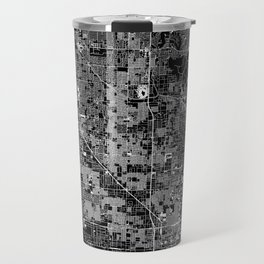 Phoenix Black Map Travel Mug