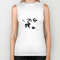 witchcraft Biker Tanks featuring Art is witchcraft by Koni