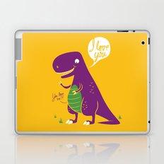 The Friendly T-Rex Laptop & iPad Skin