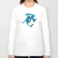 rat Long Sleeve T-shirts featuring Skate Rat by robotrake