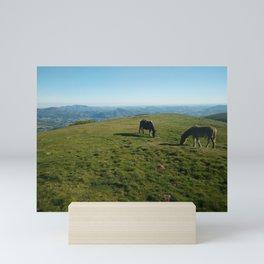 This Thing is mountain horses Mini Art Print