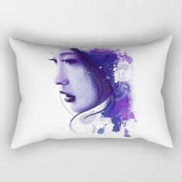 Asian Beauty Rectangular Pillow