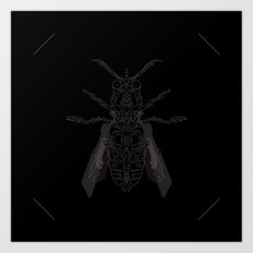 entomology 02. (ii) Art Print