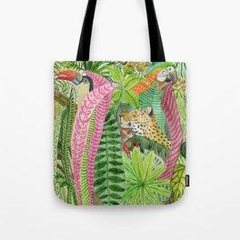 Jungle animals Tote Bag