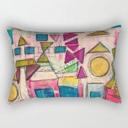 Spring shapes Rectangular Pillow