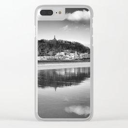 San Sebastian reflections. Clear iPhone Case