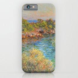 "Claude Monet ""Landscape near Montecarlo"" iPhone Case"