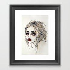 Frances Bean Cobain no.3 Framed Art Print