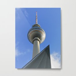 Berlin TV Tower, Alex Metal Print
