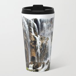 Pearl Shoal Waterwall // Jiuzhaigou Valley Travel Mug